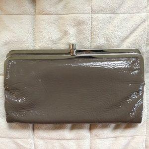 Hobo Patent Leather Lauren Clutch Wallet
